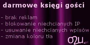 o2u.pl - darmowe księgi go¶ci